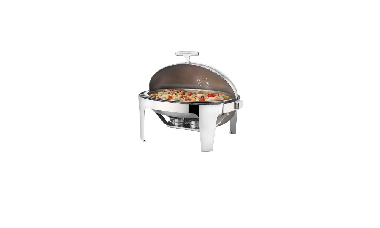 Deluxe Oval Rolltop Chafing Dishler