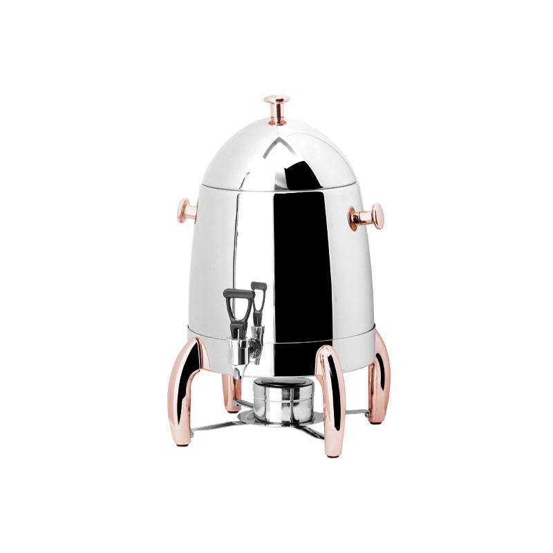 Exclusive Kahve Dispenseri Copper Jel Yakıtlı 12 lt