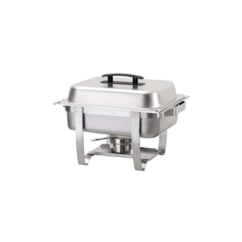 Klasik Chafing Dish 1/2 Jel Yakıtlı
