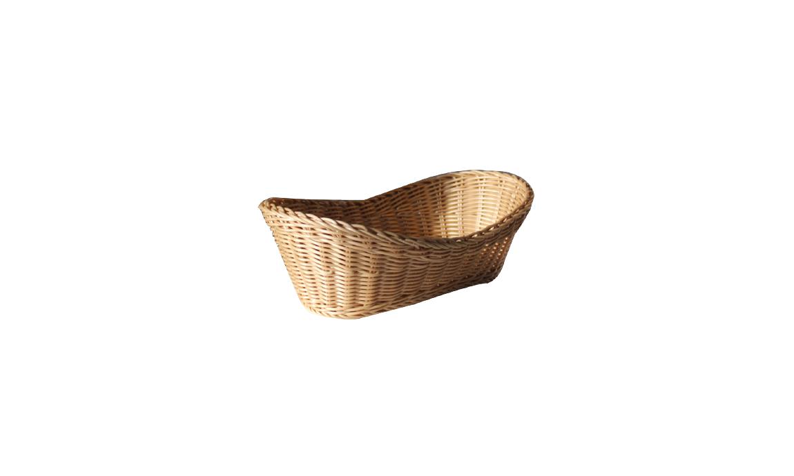 Dalgalı Hasır Ekmek Sepetleri