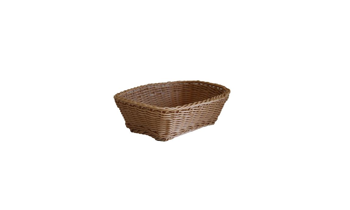 Dikdörtgen Hasır Ekmek Sepetleri