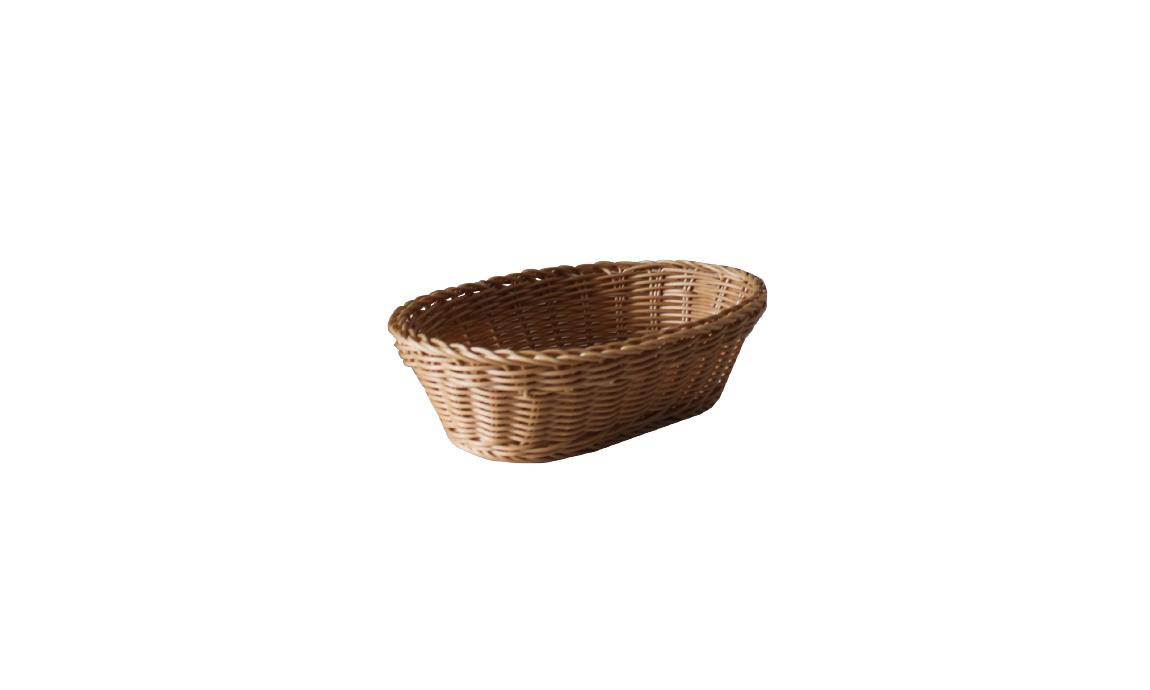 Oval Hasır Ekmek Sepetleri