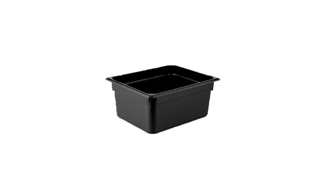 Polikarbon Gastronorm Küvetler (Siyah)