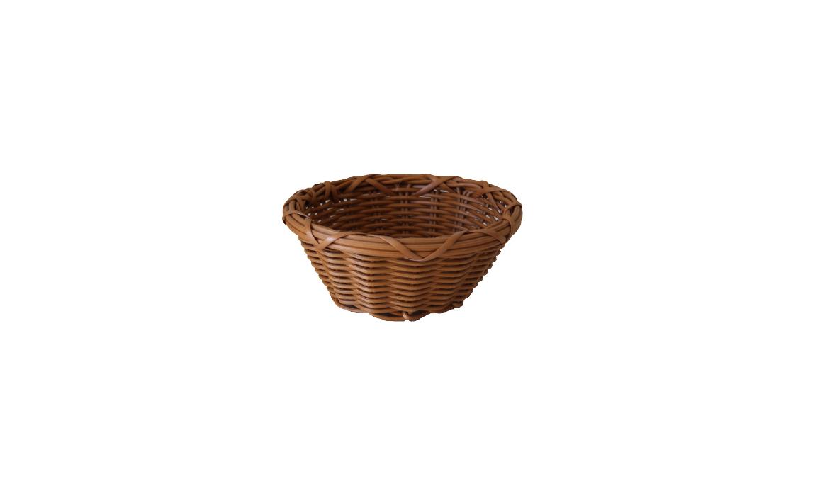 Yuvarlak Hasır Ekmek Sepetleri