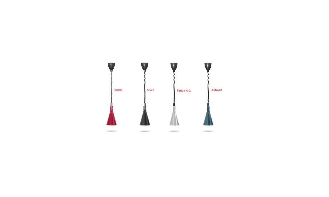 Conic Asansörlü helezon kablolu İnfrared Isıtıcı