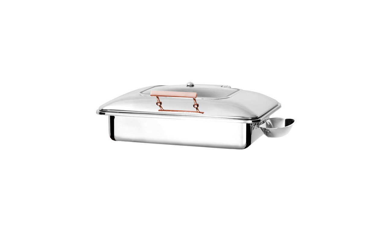 Exclusive Copper İndüksiyon Chafing Dish
