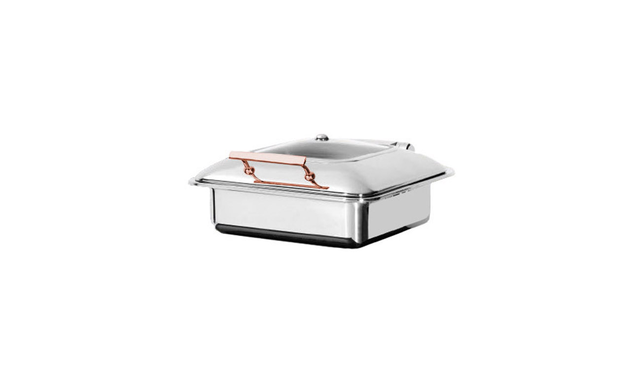 Exclusive GN 2/3 Copper Gömme Chafing Dish