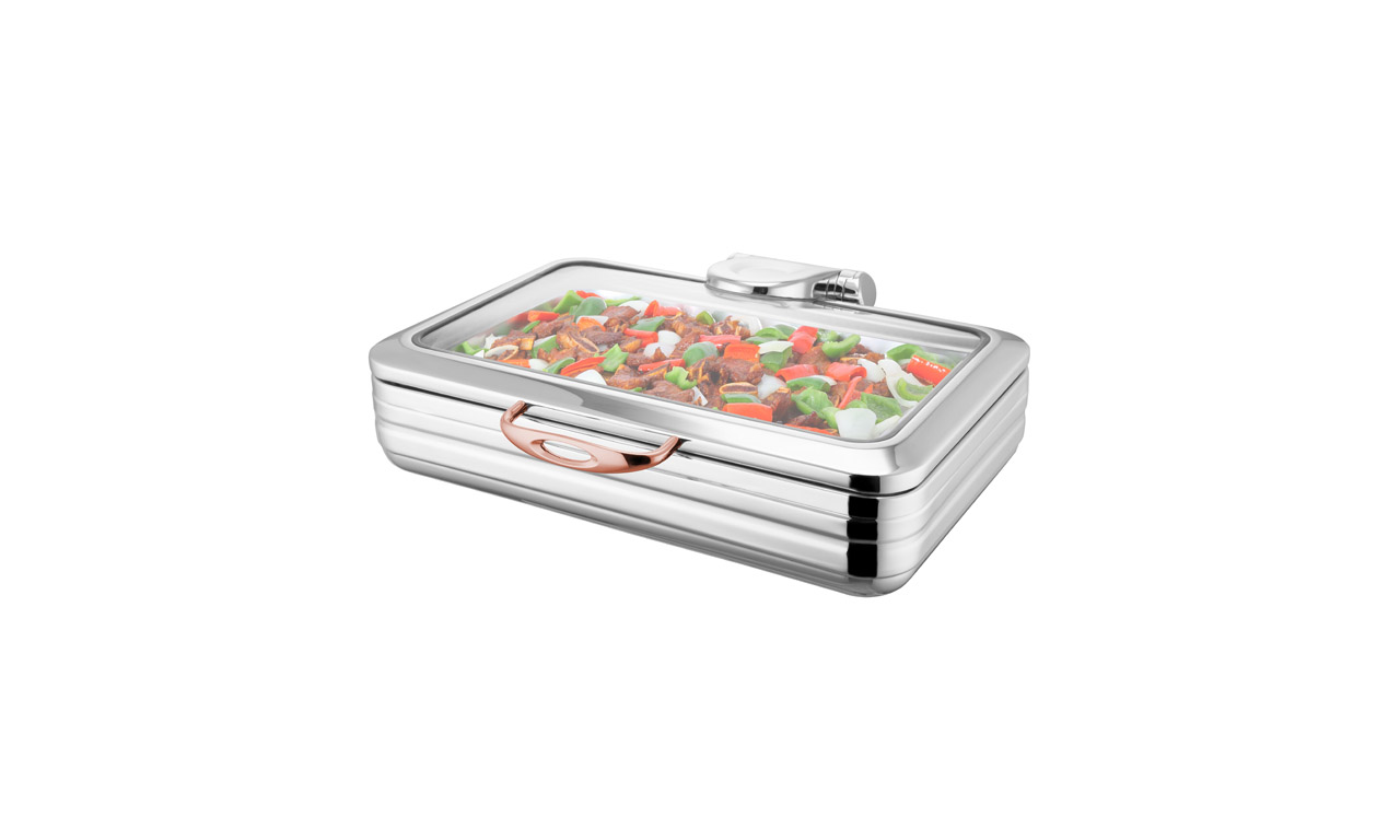 Milano Copper İndiksiyon GN 1/1 Chafing Dish