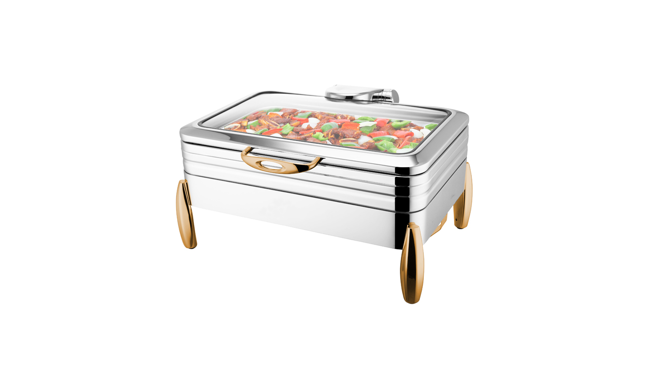 Milano GN1/1 Gold Chafing Dish