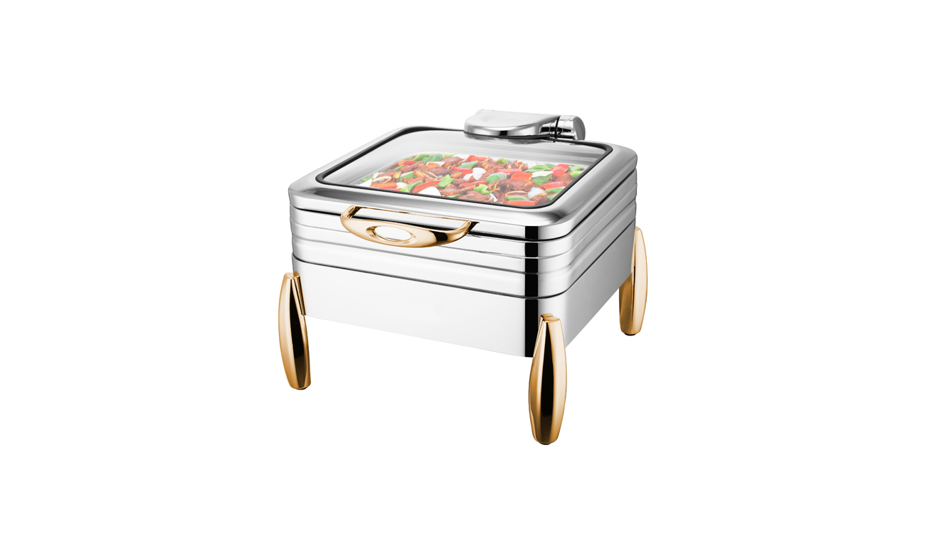 Milano GN 1/2 Gold Chafing Dish