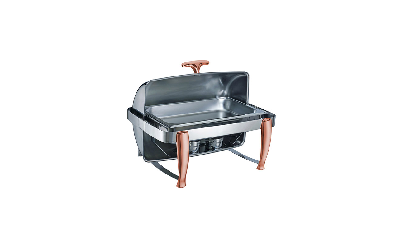 Roma Coppe GN 1/1 Roll Top Chafing Dish