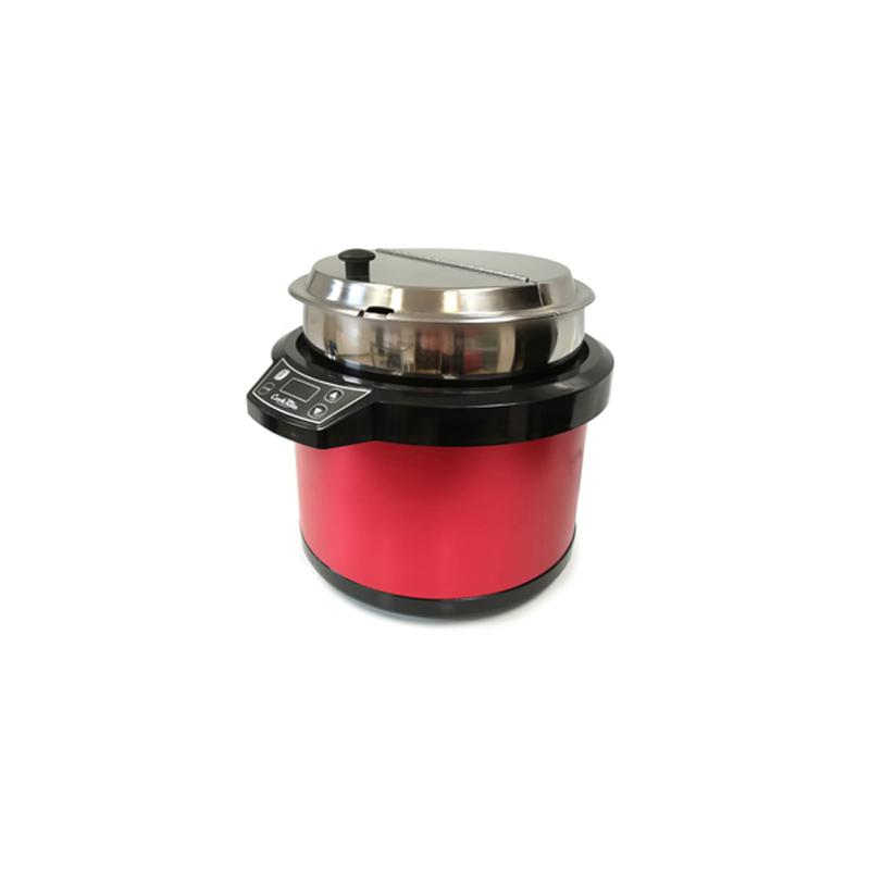 Dijital Kontrol Panelli Çorbalık Kırmızı 11 lt