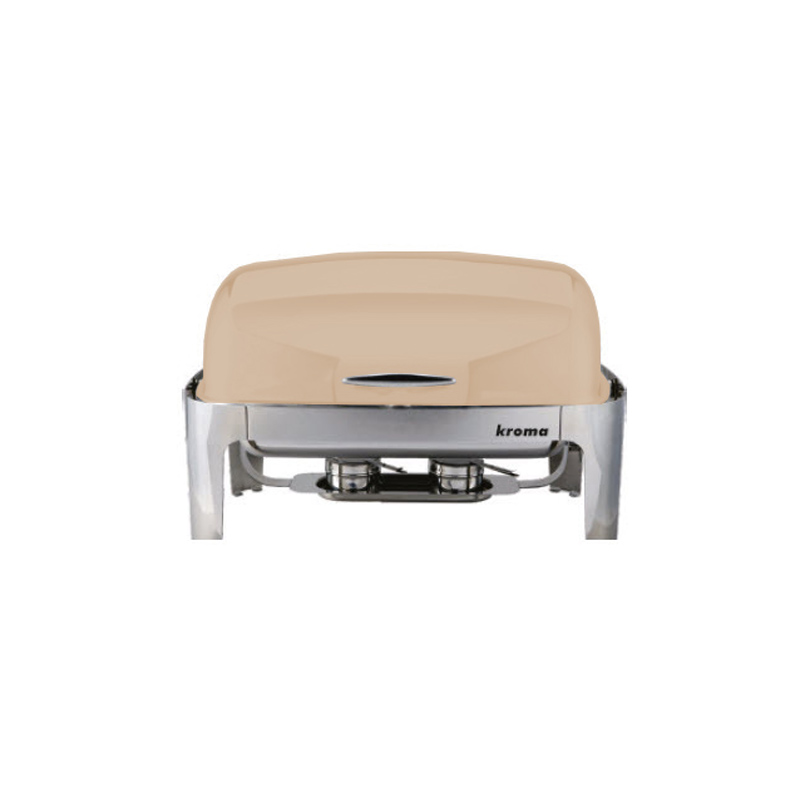Deluxe Rolltop Chafing Dish Bej