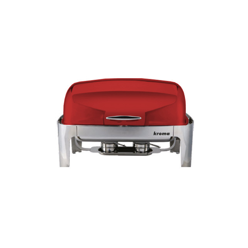 Deluxe Rolltop Chafing Dish Kırmızı