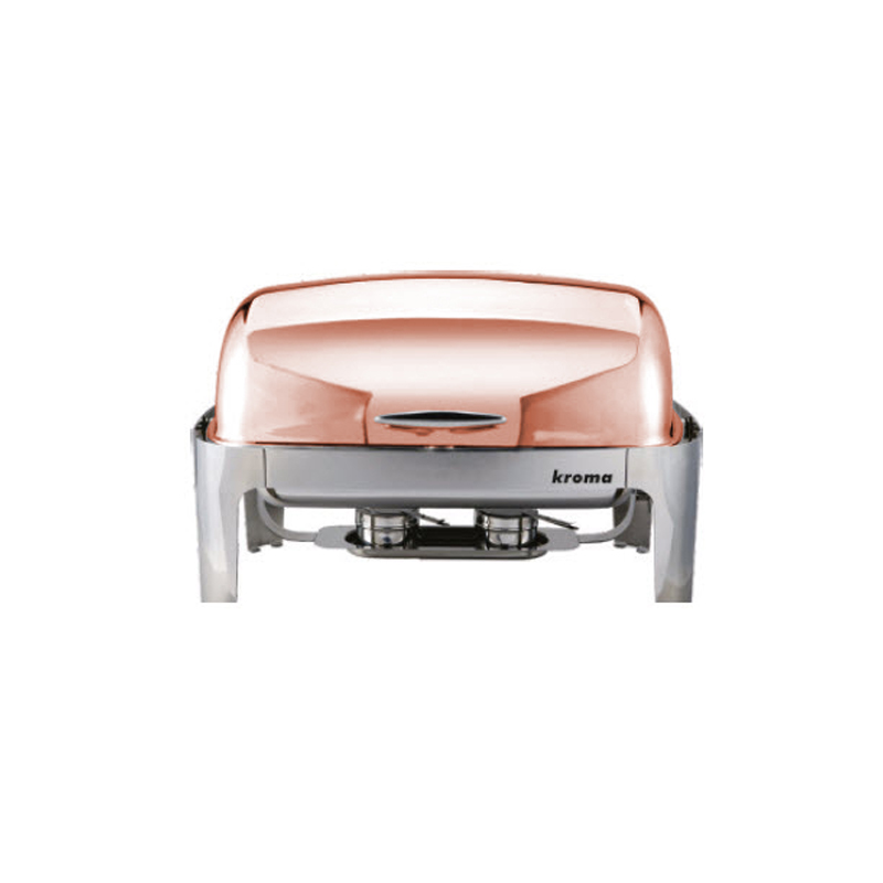 Deluxe Rolltop Copper Chafing Dishler