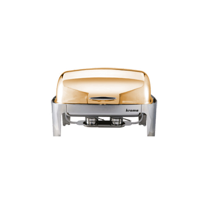 Deluxe Rolltop Gold Chafing Dishler
