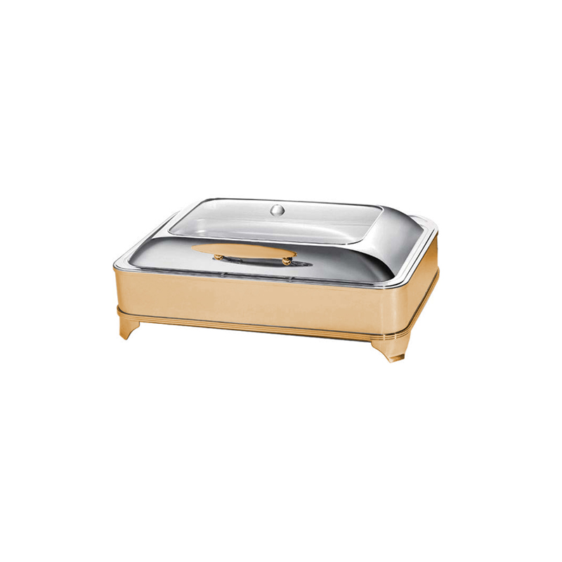Exclusive Box Gold Chafing Dishler