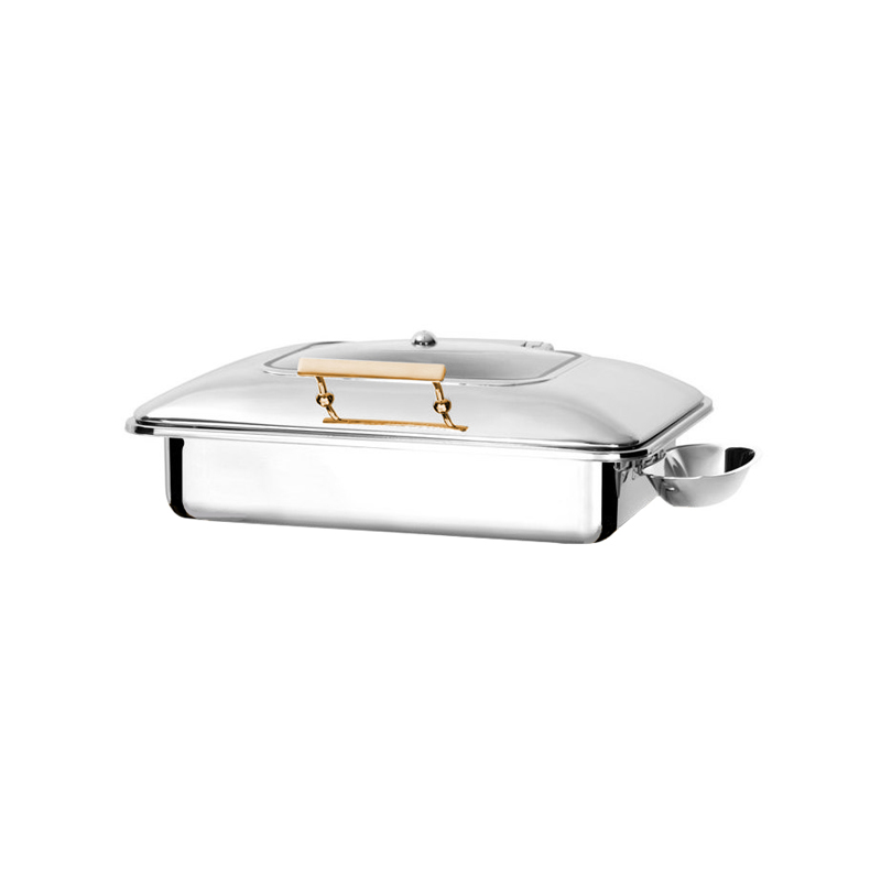 Exclusive İndüksiyon Gold Chafing Dishler