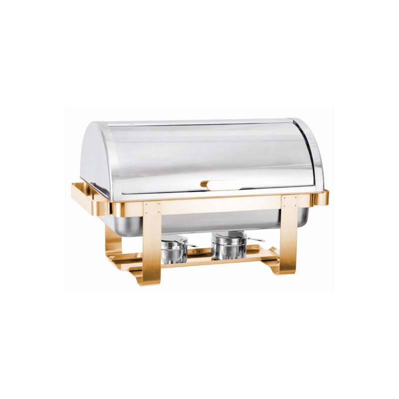 Rolltop Gold Chafing Dish Classic