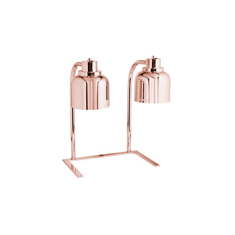 Copper Ayaklı Çiftli İnfrared Isıtıcı Lamba