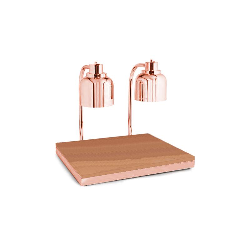 Copper GN-2/1 Infrared Isıtıcılı Carving Ünitesi